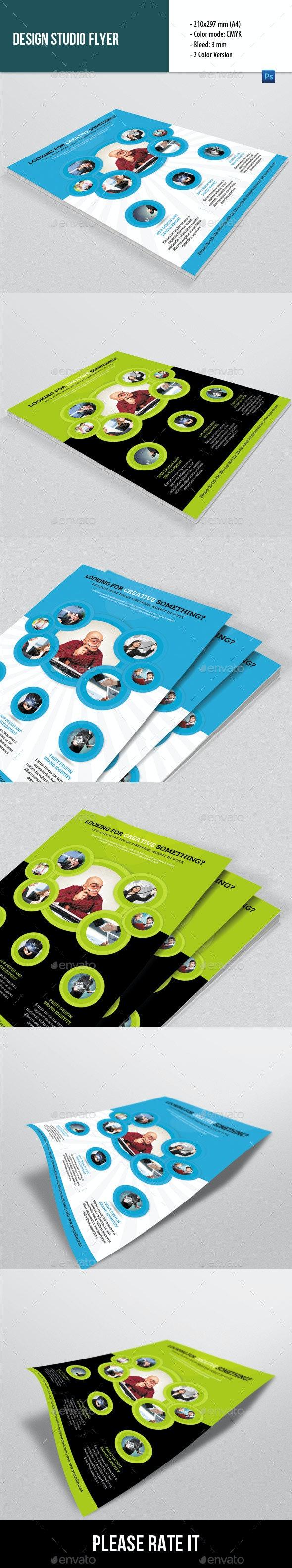 Flyer Template for Design Studio - Corporate Flyers
