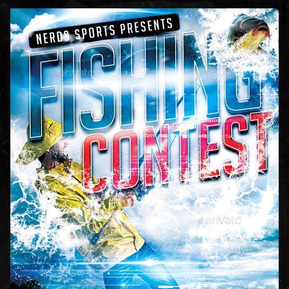 Fishing Contest Flyer