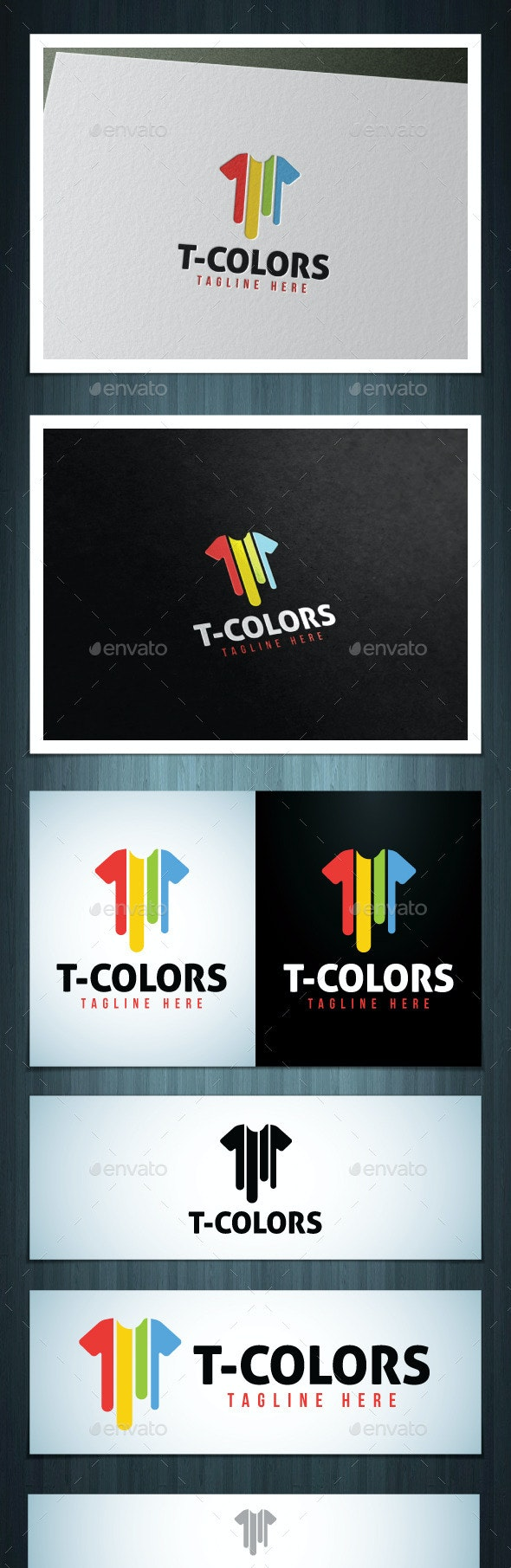 T-Colors - Vector Abstract
