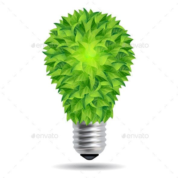 Eco Bulb - Nature Conceptual