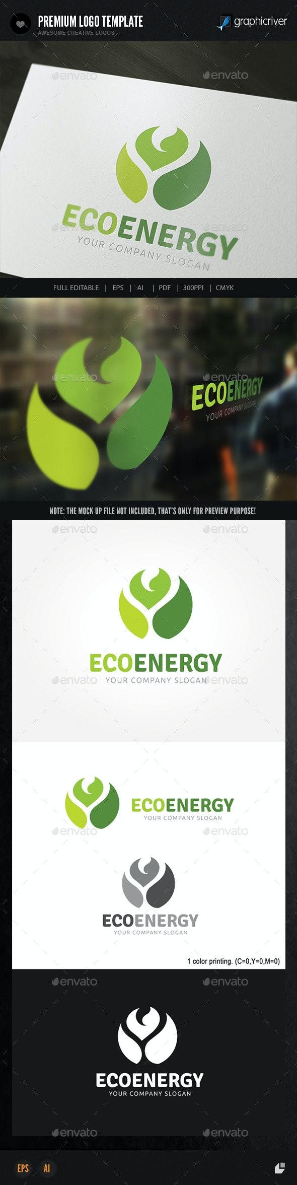 Eco Energy  - Nature Logo Templates