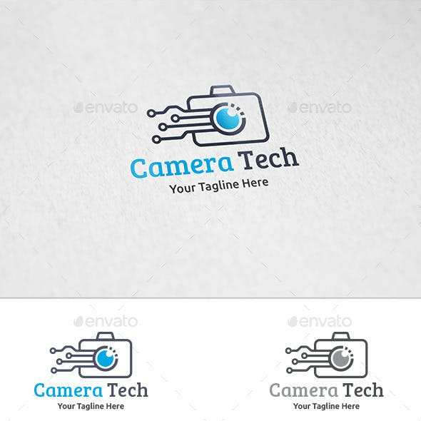 Camera Tech - Logo Template