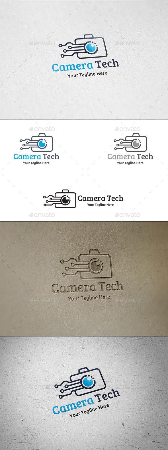 Camera Tech - Logo Template - Objects Logo Templates