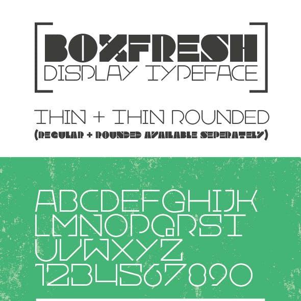 Boxfresh Thin + Thin Rounded