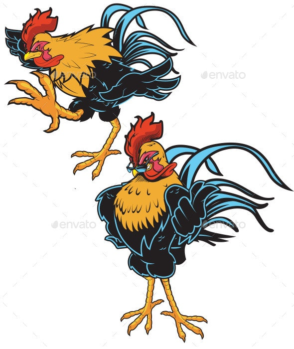 Rooster - Animals Characters