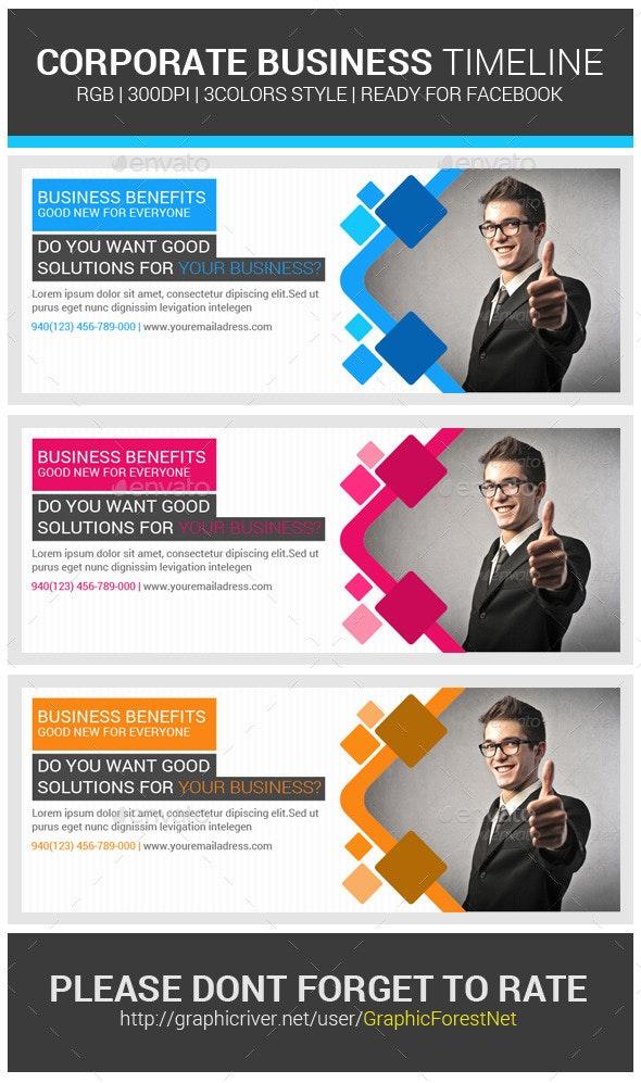 Corporate Business Facebook Timeline Psd Cover - Facebook Timeline Covers Social Media