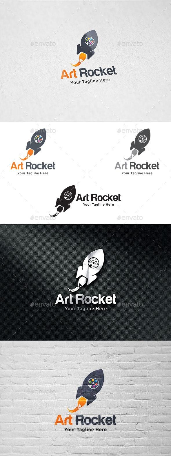 Art Rocket - Logo Design - Objects Logo Templates