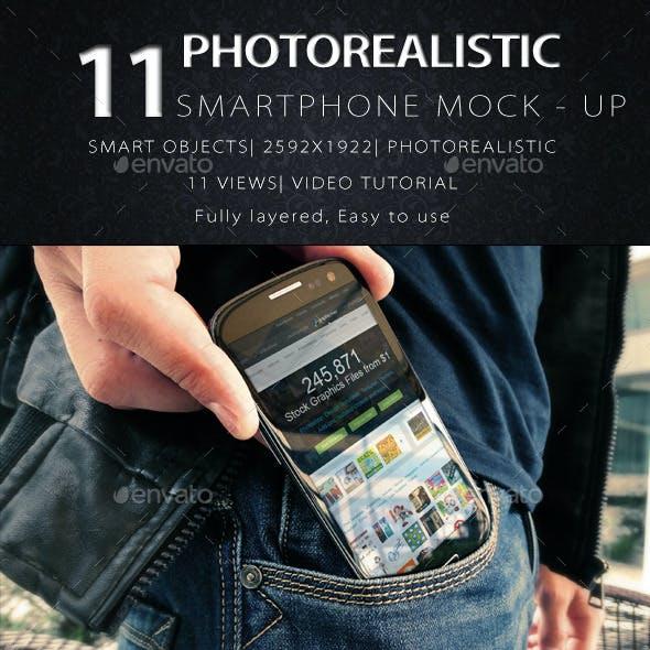 11 Phone Mock Ups