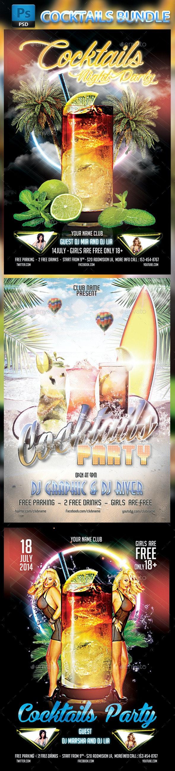 Bundle Cocktails Party - Clubs & Parties Events