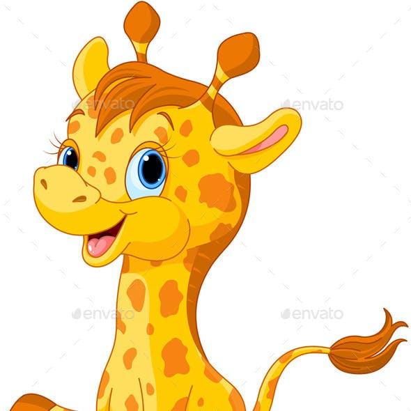 Girafe Calf