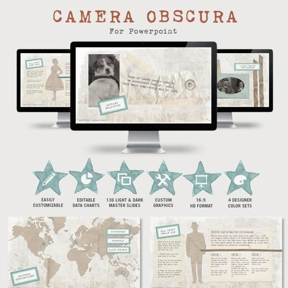 Camera Obscura Powerpoint Presentation Template