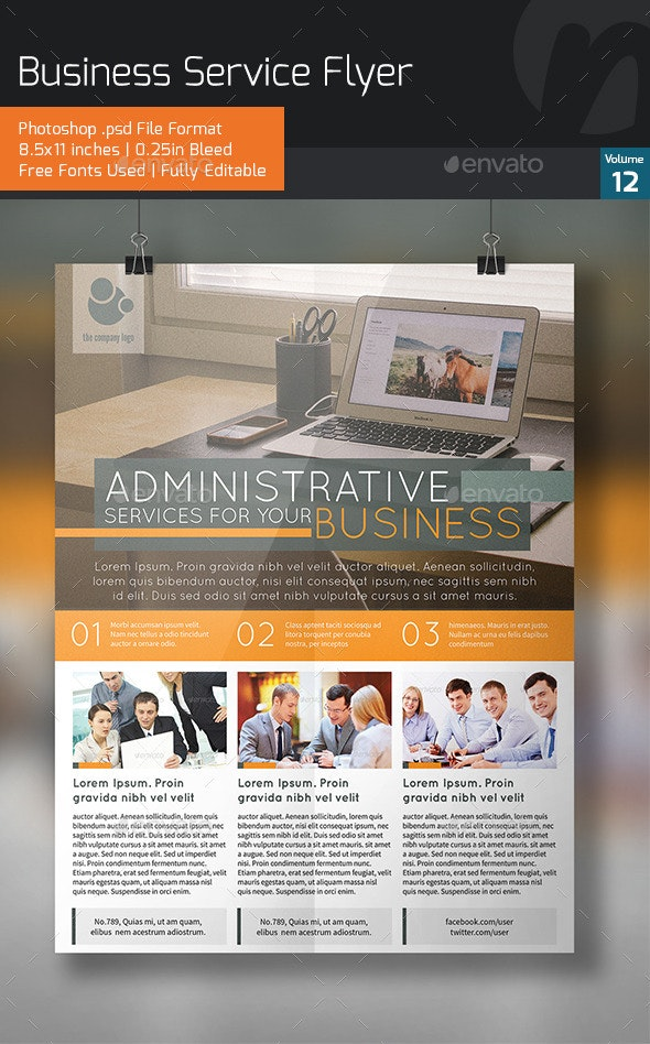 Business Services Flyer V12 - Corporate Flyers