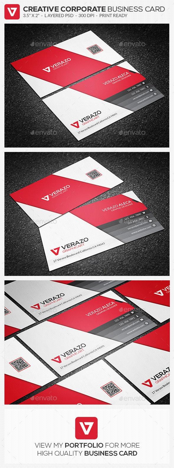 Creative & Modern Corporate Business Card 62 - Creative Business Cards