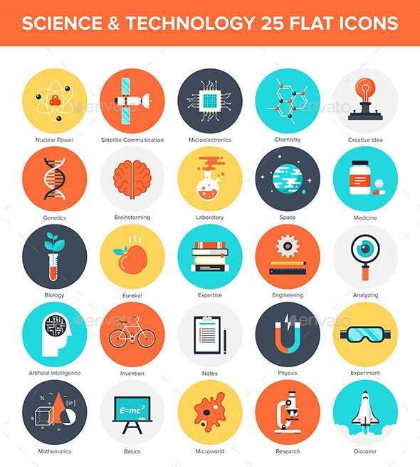 Science Icons - Technology Icons