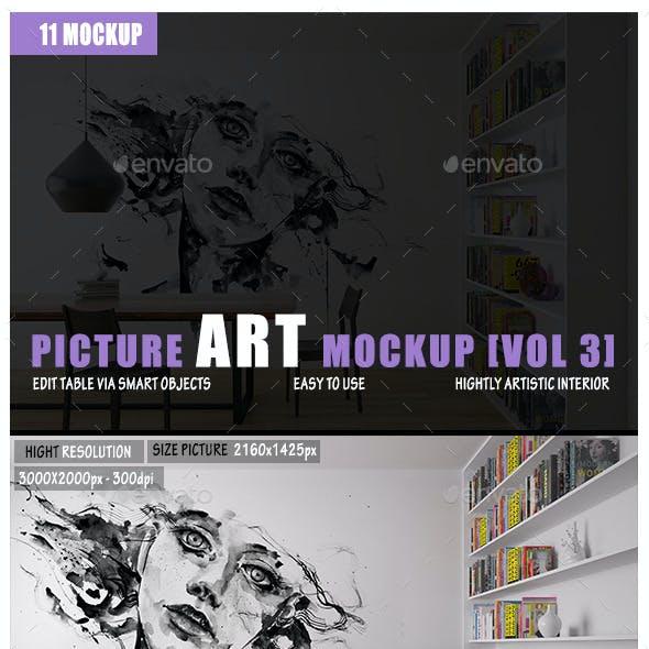 Picture Art Mockup [Vol 3]