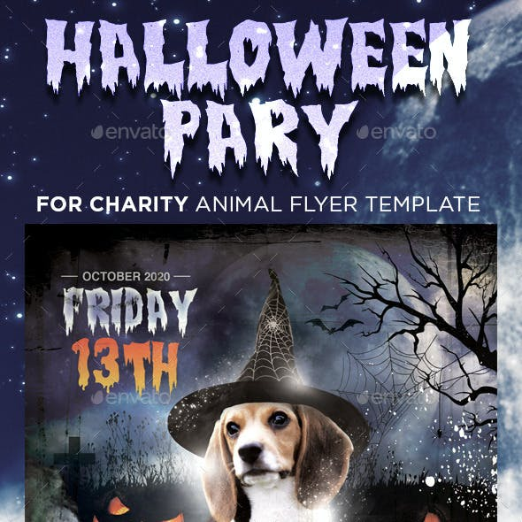 Halloween Party for Animal Charity