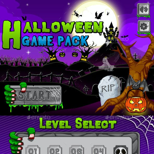 Halloween Theme Game Pack
