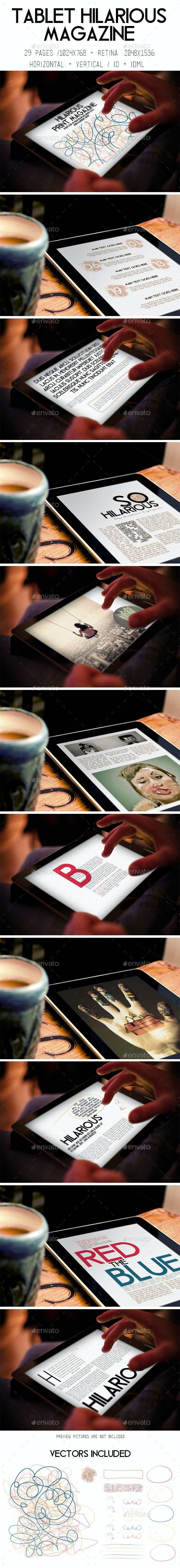 iPad & Tablet Hilarious Magazine - Digital Magazines ePublishing