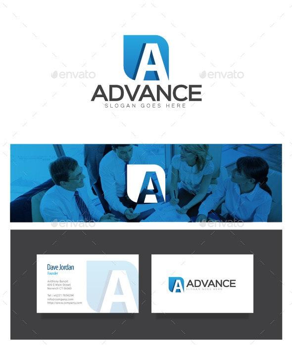 Advance - Letter A Logo - Letters Logo Templates