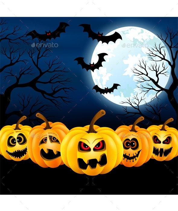 Full Moon on Halloween - Halloween Seasons/Holidays
