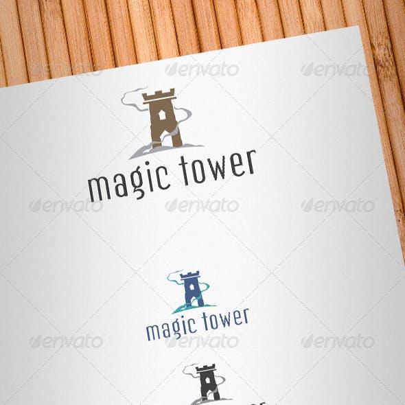Magic Tower Logo Template