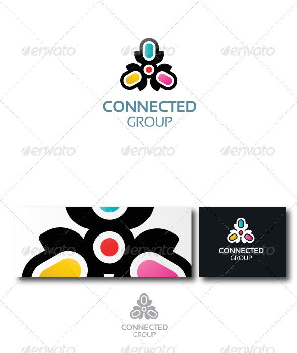 Connected - Abstract Logo Templates