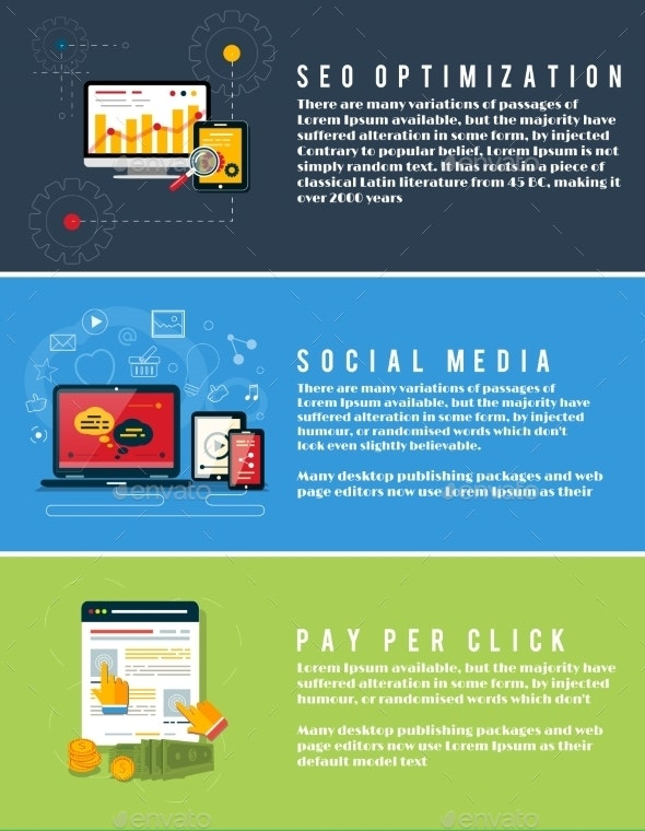 Seo Marketing, Pay Per Click, Social Media - Web Technology
