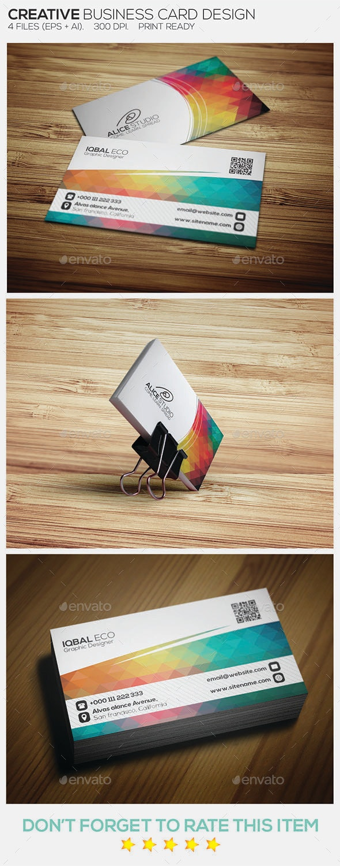 Creative Business Card Design - Creative Business Cards