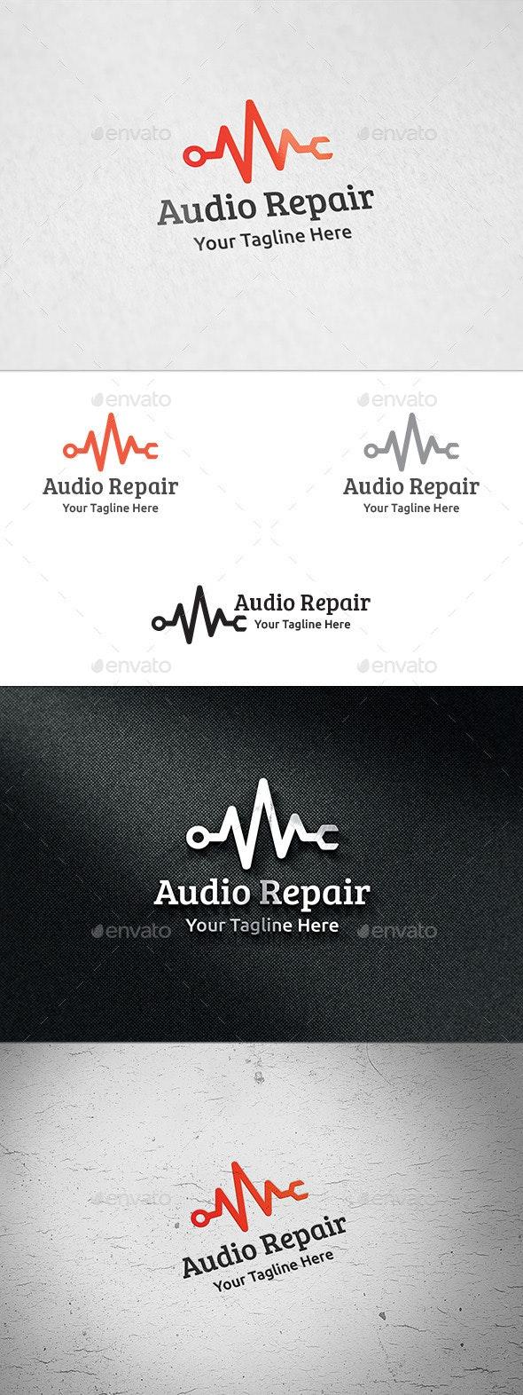 Audio Repair - Logo Template - Symbols Logo Templates