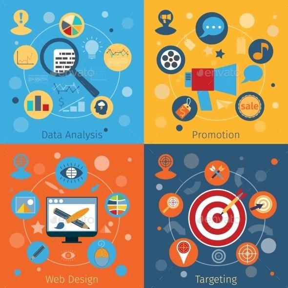 Modern Web Concepts Set - Web Technology