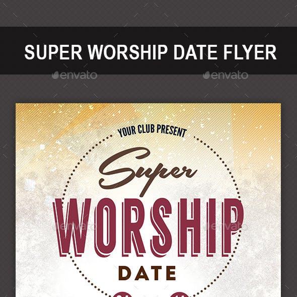 Super Worship Date