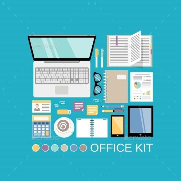Office Kit Decorative - Concepts Business