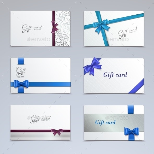 Gift Cards Set - Miscellaneous Seasons/Holidays