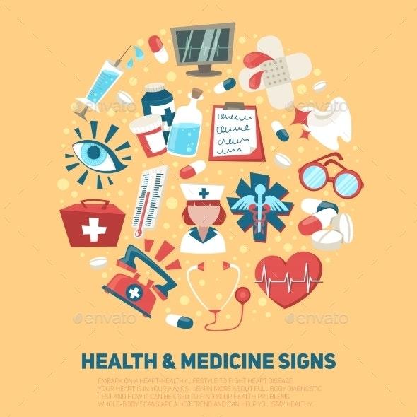Health and Medical Signs Concept - Health/Medicine Conceptual