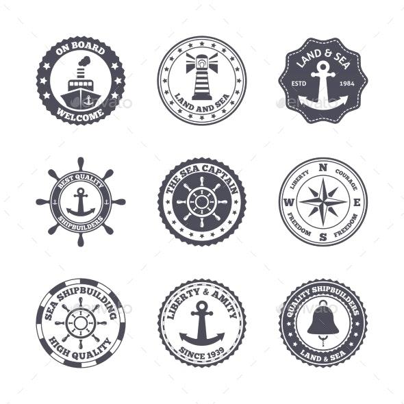 Sea Port Label Set - Concepts Business