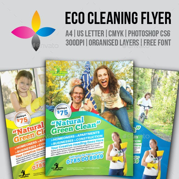 Eco Cleaning Flyer
