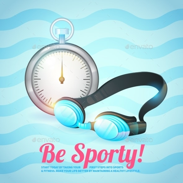 Healthy Lifestyle Background - Sports/Activity Conceptual