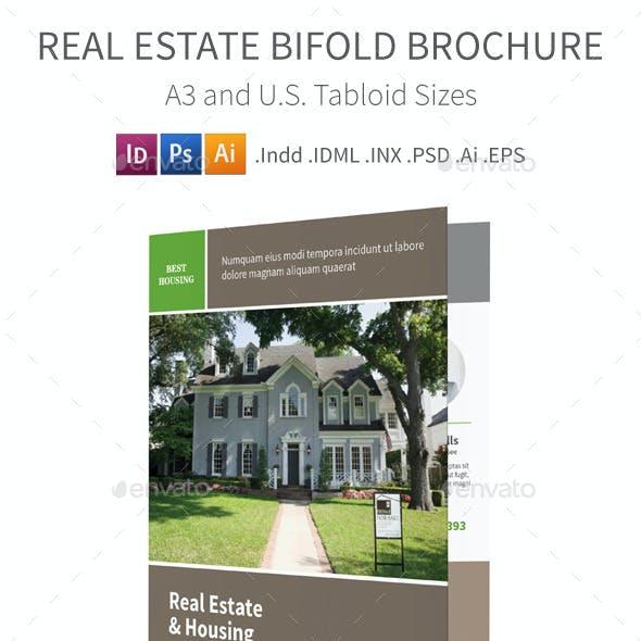 Real Estate Bifold / Halffold Brochure
