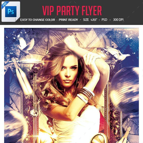 VIP Party Flyer