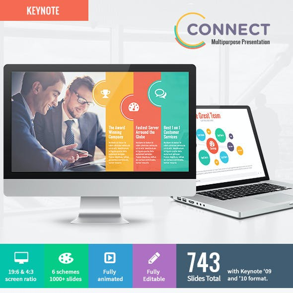 Connect - Modern Keynote Template