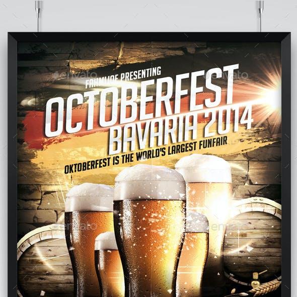 Oktoberfest 2014 Flyer