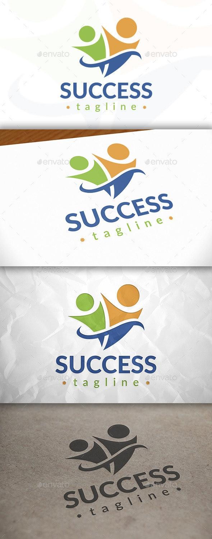 Success People Logo - Humans Logo Templates