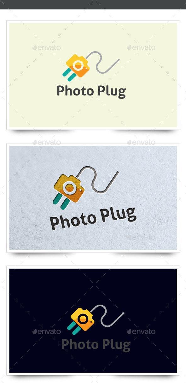 Photo Plug - Objects Logo Templates