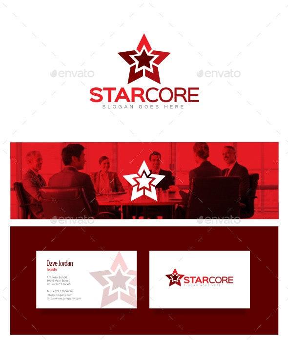 Star Core - Star Logo - Objects Logo Templates