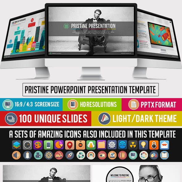 Pristine Company PowerPoint Presentation