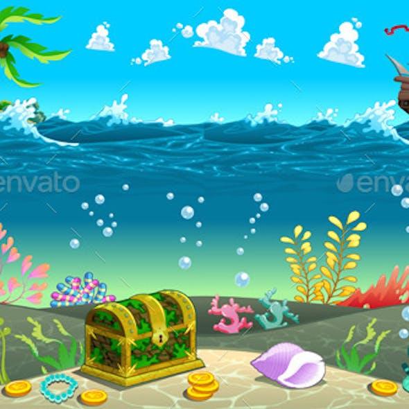 Scene under the Sea.