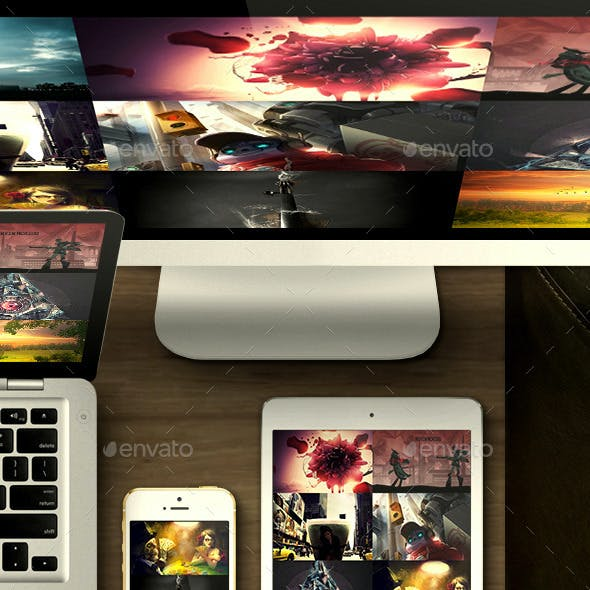 Website Devices Mockups