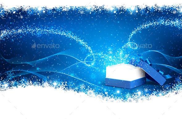 Magic Christmas Box - Christmas Seasons/Holidays
