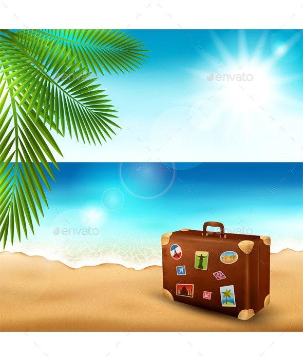 Tropical Beach - Nature Conceptual