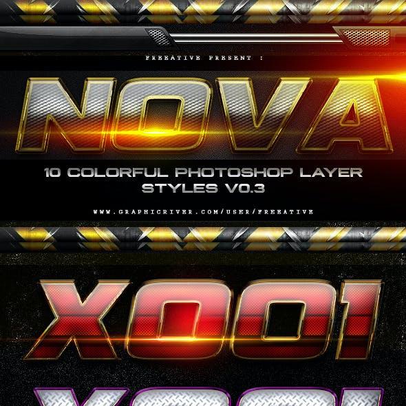 NOVA Layer Styles V0.3
